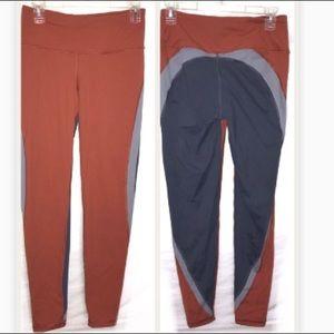 VS SPORT knockout tights leggings gray orange